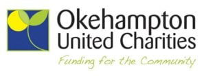 Okehampton United Charities - Funding for the Community (logo)
